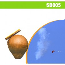 """Bayraklı Gök Bombası 5""""inç"""