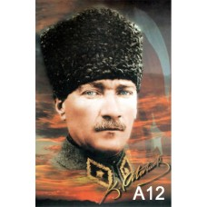 Fabrikasyon Atatürk Posteri