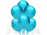 Açık Mavi Metalik Balon