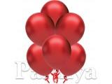 Kırmızı Metalik Balon