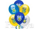 Nazar Boncuklu Karışık Balon